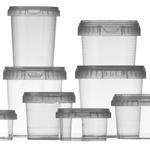 Image de la catégorie TP Pots ronds avec fermeture de sécurité