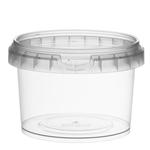 Picture of TP Plastic pot rond 280ml met veiligheidssluiting inclusief deksel