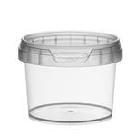 Picture of TP Plastic pot rond 120ml met veiligheidssluiting inclusief deksel