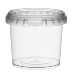 Picture of TP Plastic pot rond 365ml met veiligheidssluiting inclusief deksel