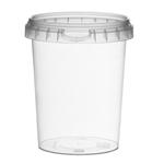 Picture of TP Plastic pot rond 520ml met veiligheidssluiting inclusief deksel