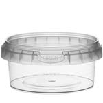 Picture of TP Plastic pot rond 180ml met veiligheidssluiting inclusief deksel