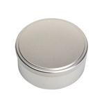 Image de Boîte en métal cylindrique ø 90mm x 50mm avec coiffant