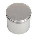 Image de Boîte en métal cylindrique ø 90mm x 140mm avec coiffant